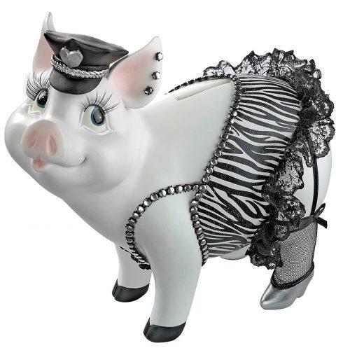 Cutest Pig Statue Piggy Bank