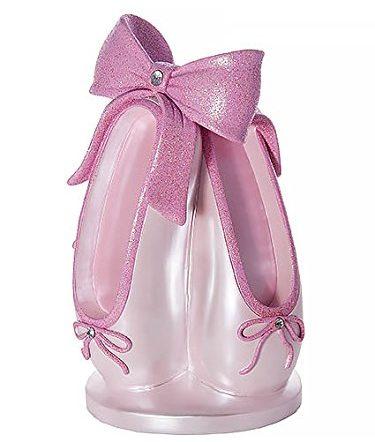 Pink Ballet Slipper Money Piggy Bank