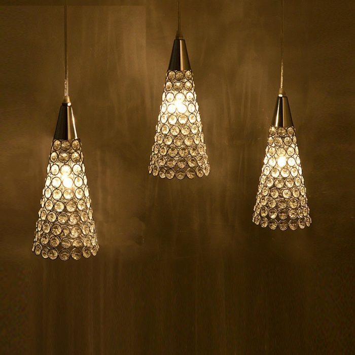 Hanging Fixture 3 Lights Pendant Light