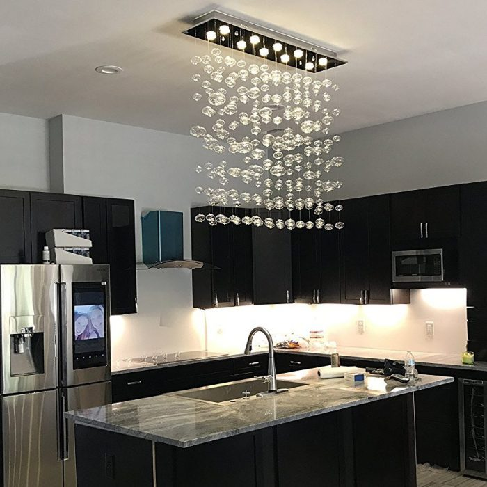 Modern Bubble Glass Pendant Light
