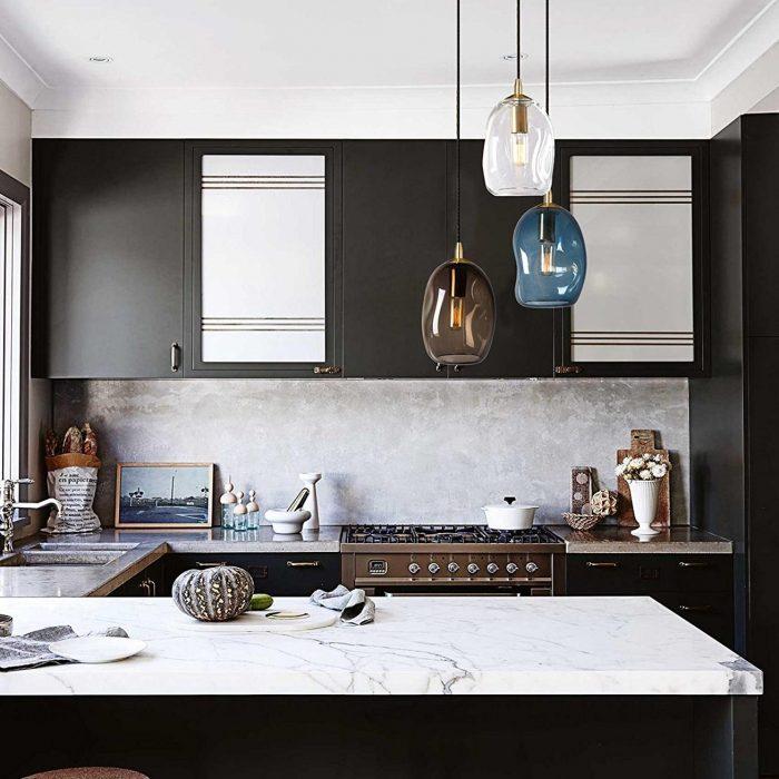 Organic Contemporary Style Pendant Light