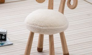 Stylish Sheep Pattern Chair for Kids