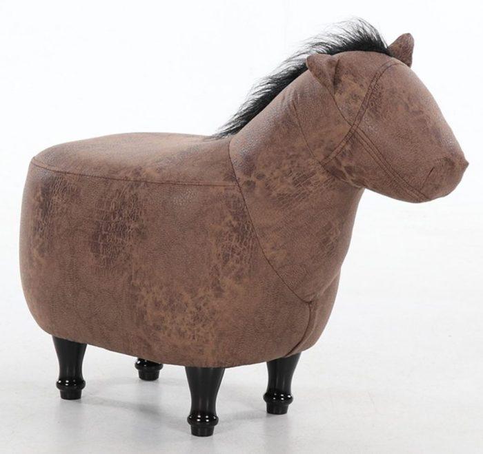 Very Creative Horse Shape Ottoman