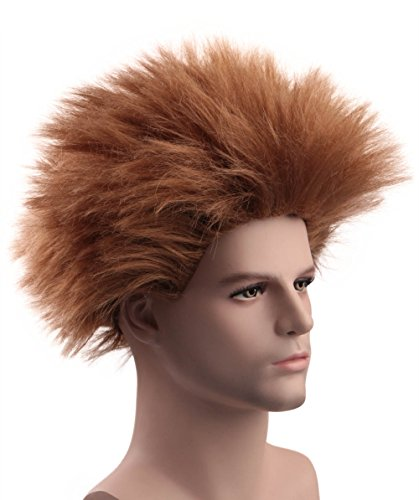 Brown Johnny Wig Hotel Transylvania Costume