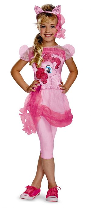 Classic Little Pony Pinkie Pie Girls Costume