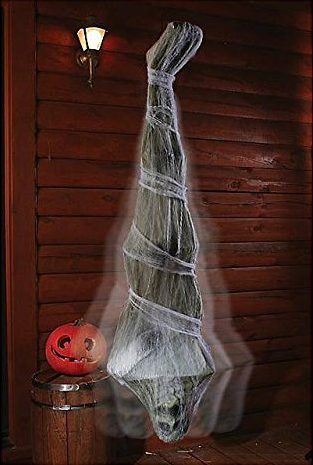Creepy Cocoon Corpse Halloween Door Decor