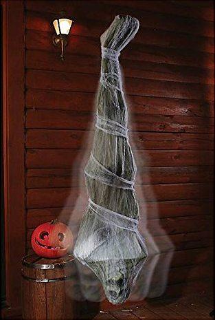 Creepy Cocoon Corpse Halloween Door Decor