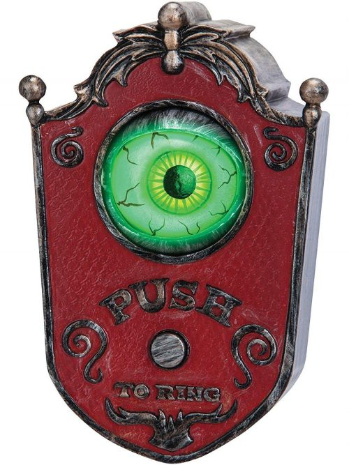 Cute Eyeball Animated Doorbell