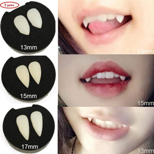 Eco-Friendly Vampire Teeth Hotel Transylvania Costume
