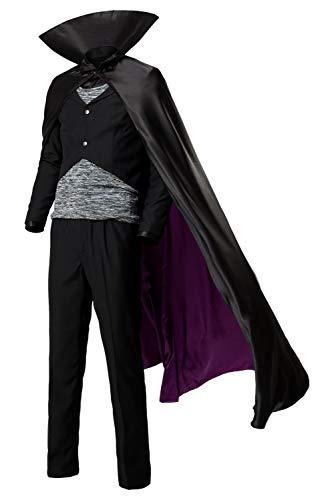 Men's Halloween Vampire Dracula Hotel Transylvania Costume