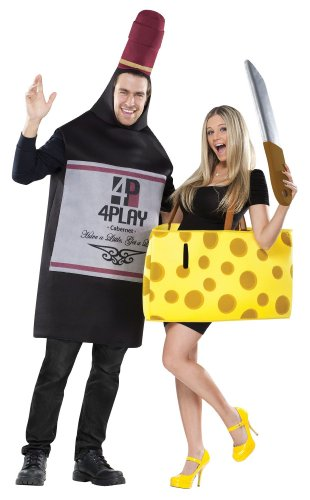 Perfectly Paired Wine And Cheese Couple Costume