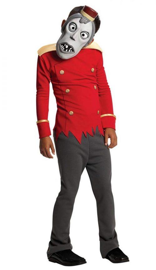 Red Bell Hop Child Hotel Transylvania Costume