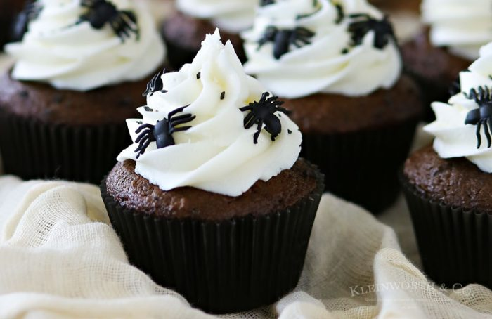 Spooky Halloween Spider Cupcake
