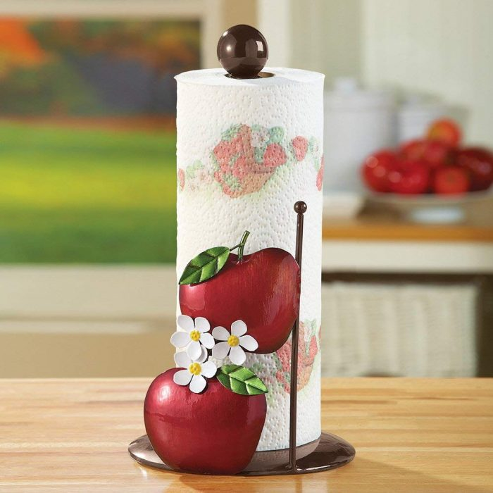 Apple Blossom Paper Towel Holder