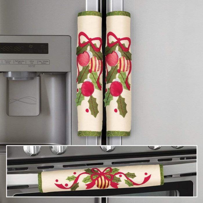 Christmas Ornament Appliance Handle Cover
