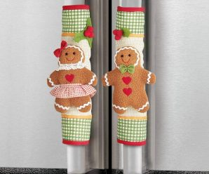 14 Cute Appliance Handle Covers for Christmas