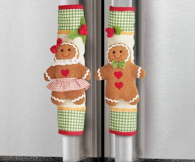 Cute Gingerbread Appliance Handle Covers