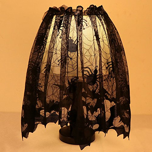 Lace Spider Halloween Lampshade Topper