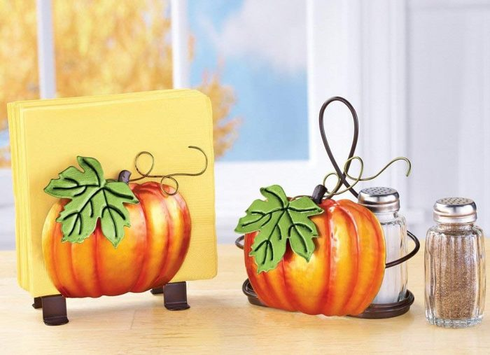 Pumpkin Pattern Serveware Accessory Set