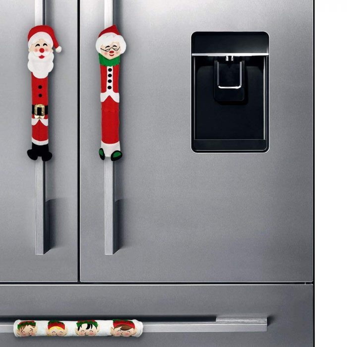 Santa & Mrs Claus Appliance Handle Covers