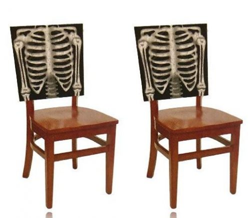 Skeleton Halloween Chair Cover