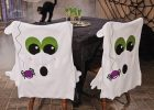 Spooky Fun Ghost Halloween Chair Cover