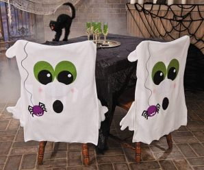 10 Spooky and Scary Halloween Chair Cover