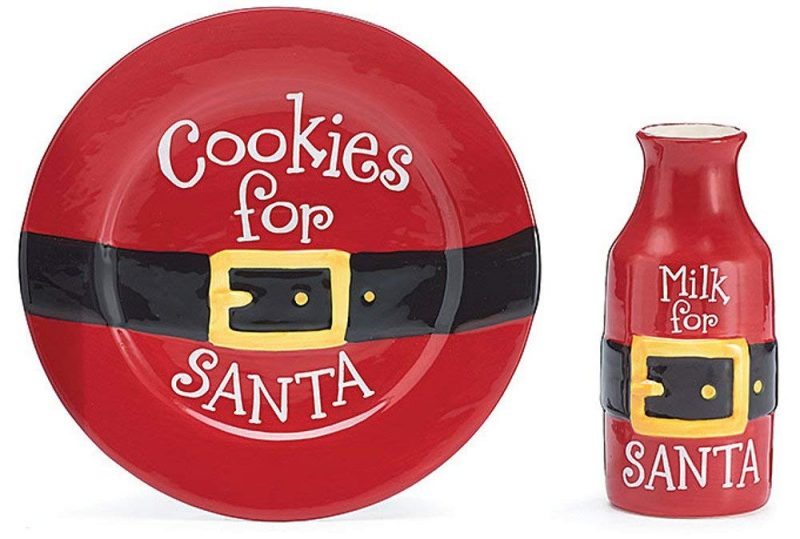 Cookies and Milk for Santa Gift Set