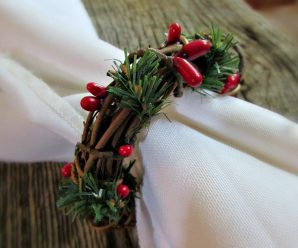 15 Most Attractive Christmas Napkin Rings