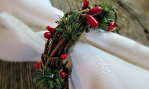 Grapevine Twig Napkin Ring