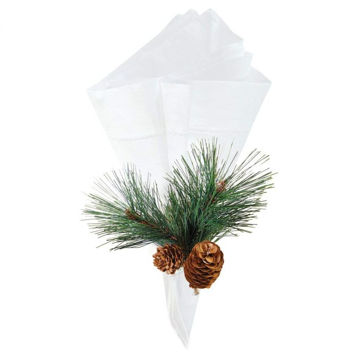 Natural Pine Cone Napkin Ring