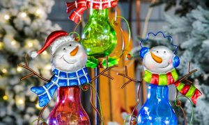 Outdoor Landscape Christmas Decoration